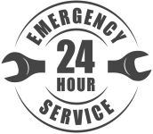 stock-vector--hour-emergency-service-logo-with-wrench-silhouette-790054021